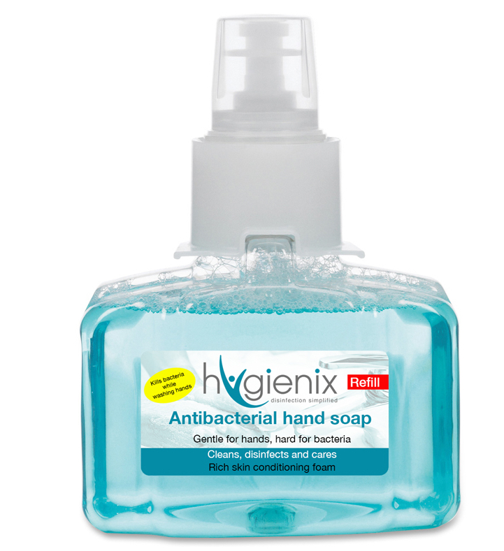 Antibacterial Hand Soap Bottle